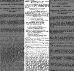1898 SEP 23 FRI  PG 16 RECPTION FOR BRKLYN