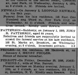 obit, John R. Patterson
