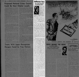 1951 SEP 4 TUE PG 8 ACCT OF OFFICERS TO REPORTER RETOLD GREAT