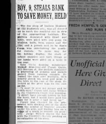 Isadore Mosberg, The Brooklyn Daily Eagle, 6 Dec 1922, p. 2
