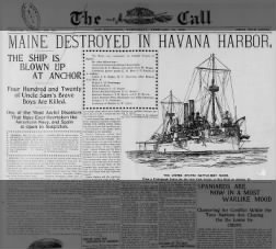 uss maine sinking of essay Uss maine was sunk february 15, 1898 have you ever played the game battleship to sink your opponent's ships you have to guess where the ships.