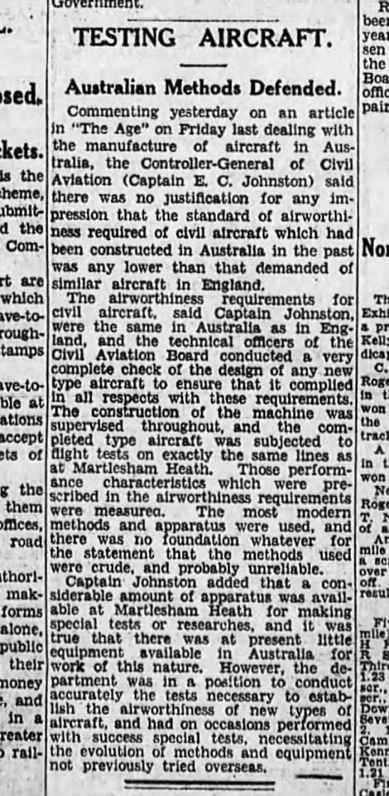 MARTLESHAM HEATH.  The Age (Melbourne, Victoria, Aus.) 21 Jan 1937 (Thurs).