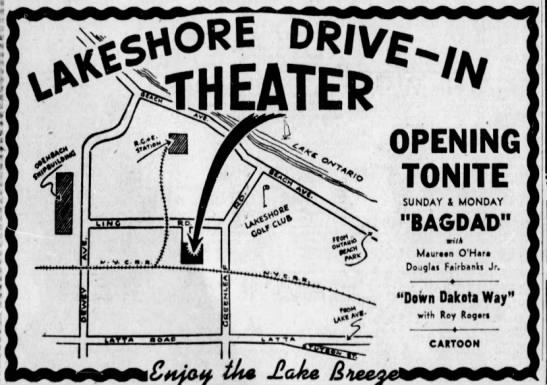 Lakeshore Drive-In opening