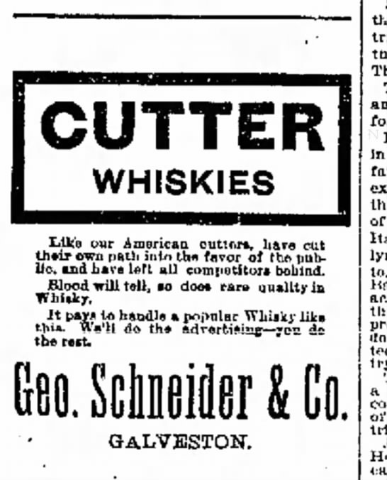 Cutter Whiskies