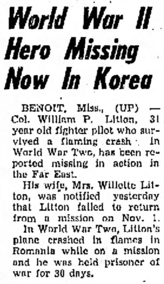 11 Nov 1951 The Delta Democrat =Times, Greenville, MS