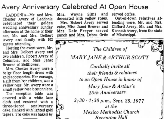 Avery Anniversary Celebrated At Open House