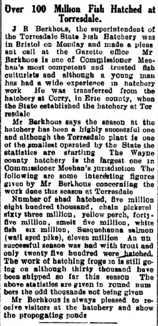Jerry Ray Berkhous 16 Aug 1907