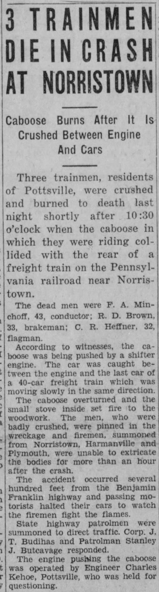 Pottstown Mercury - 3-23-1934 pg 1