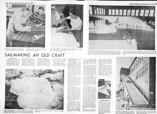 17 Nov 1956 Daily Ind Jnl - Profile of Sutter sailmakers who outfitted FC Fleet