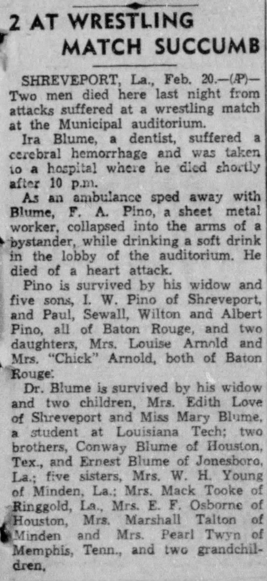 News Pino Frank Alex Sudden Death, Monroe-News-Star (Monroe, LA) Tue 20 Feb 1940