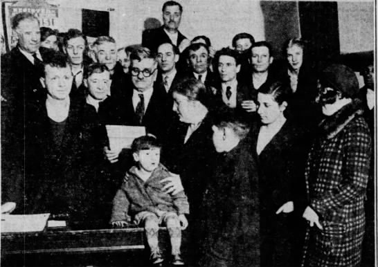 Frank Pauletta's family at trial