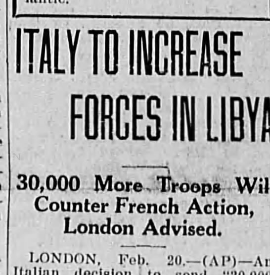 Tensions between Italy and France escalate in Africa.