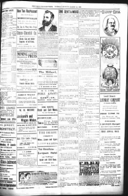 The Daily Deadwood Pioneer-Times from Deadwood, South Dakota on March 14, 1899 · Page 3