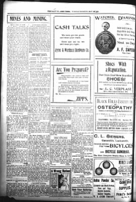 The Daily Deadwood Pioneer-Times from Deadwood, South Dakota on May 23, 1899 · Page 4