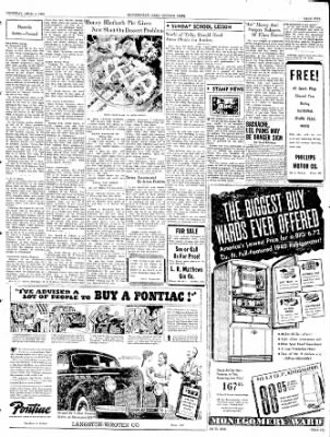 The Courier News from Blytheville, Arkansas on April 4, 1940 · Page 5