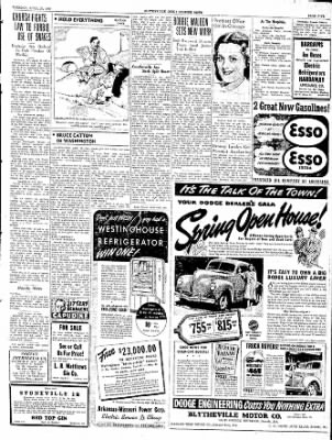 The Courier News from Blytheville, Arkansas on April 23, 1940 · Page 5