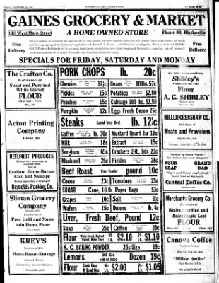 The Courier News from Blytheville, Arkansas on September 21, 1934 · Page 5