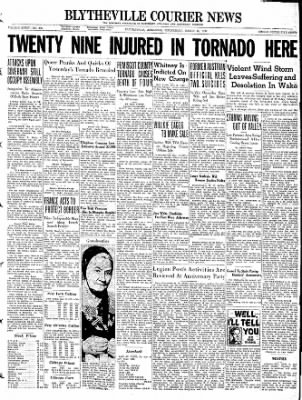 The Courier News from Blytheville, Arkansas on March 16, 1938 · Page 1