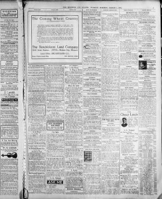 The Des Moines Register From Iowa On March 5 1907 Middot Page 9