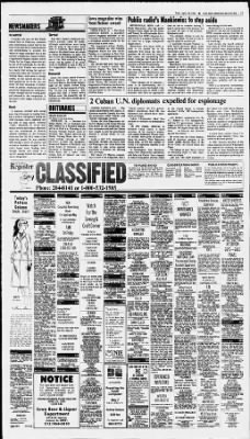 The Des Moines Register From Iowa On April 20 1983 Page