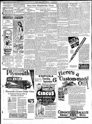 The Emporia Gazette from Emporia, Kansas on September 4, 1928 · Page 7