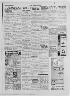 The Daily Clintonian from Clinton, Indiana on December 5, 1936 · Page 3