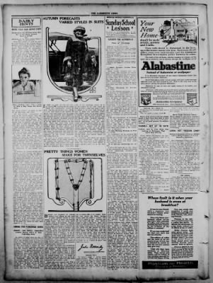 The Fairmount News from Fairmount, Indiana on October 6, 1921 · Page 6