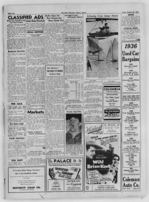 The Daily Clintonian from Clinton, Indiana on January 22, 1937 · Page 6
