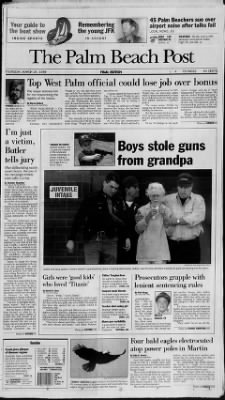 The Palm Beach Post from West Palm Beach, Florida on March 26, 1998 · Page 1