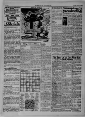 The Daily Clintonian from Clinton, Indiana on August 21, 1944 · Page 4