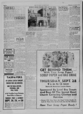 The Daily Clintonian from Clinton, Indiana on September 27, 1944 · Page 2