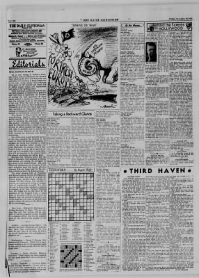The Daily Clintonian from Clinton, Indiana on November 17, 1944 · Page 6