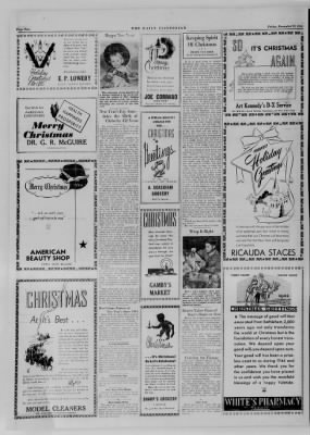 The Daily Clintonian from Clinton, Indiana on December 22, 1944 · Page 8