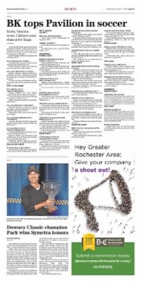 Democrat and Chronicle from Rochester, New York on October 21, 2015 · Page D3