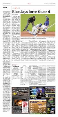 Democrat and Chronicle from Rochester, New York on October 22, 2015 · Page D3