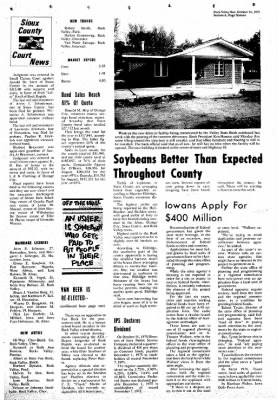 Rock Valley Bee from Rock Valley, Iowa on October 15, 1975 · Page 16