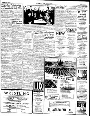 The Courier News from Blytheville, Arkansas on April 16, 1949 · Page 7