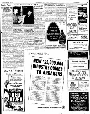 The Courier News from Blytheville, Arkansas on April 18, 1949 · Page 7