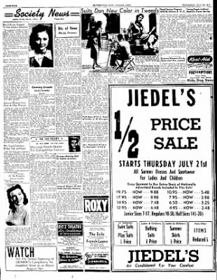 The Courier News from Blytheville, Arkansas on July 20, 1949 · Page 4