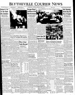 The Courier News from Blytheville, Arkansas on May 7, 1949 · Page 1
