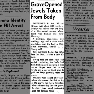 The Courier News - Jan 6 1961 - Alma Summers