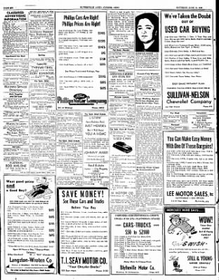 The Courier News from Blytheville, Arkansas on June 18, 1949 · Page 6