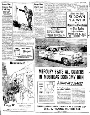 The Courier News from Blytheville, Arkansas on April 23, 1952 · Page 6