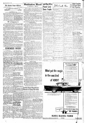 Covina Argus from Covina, California on October 18, 1956 · Page 2