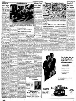 Alton Evening Telegraph from Alton, Illinois on June 2, 1956 · Page 2