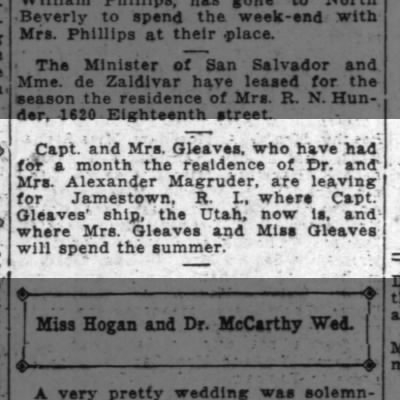 Fam to Jamestown. 6/20/1915