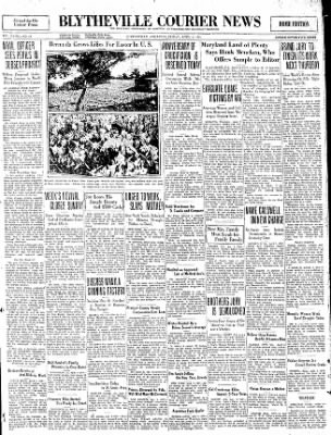 The Courier News from Blytheville, Arkansas on April 3, 1931 · Page 1