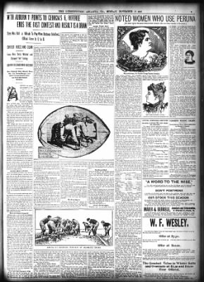 The Atlanta Constitution from Atlanta, Georgia on November 19, 1899 · Page 5