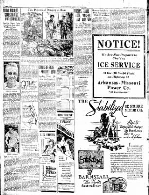 The Courier News from Blytheville, Arkansas on April 22, 1931 · Page 6