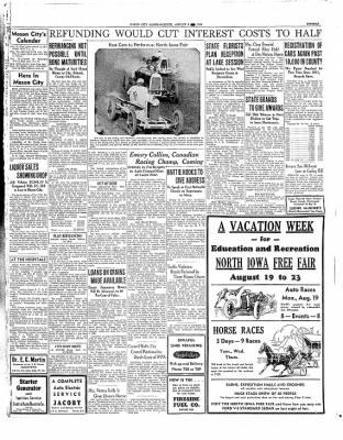 The Mason City Globe-Gazette from Mason City, Iowa on August 8, 1935 · Page 15